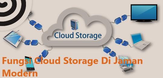 Fungsi Cloud Storage Di Jaman Modern