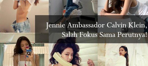 Jennie Ambassador Calvin Klein
